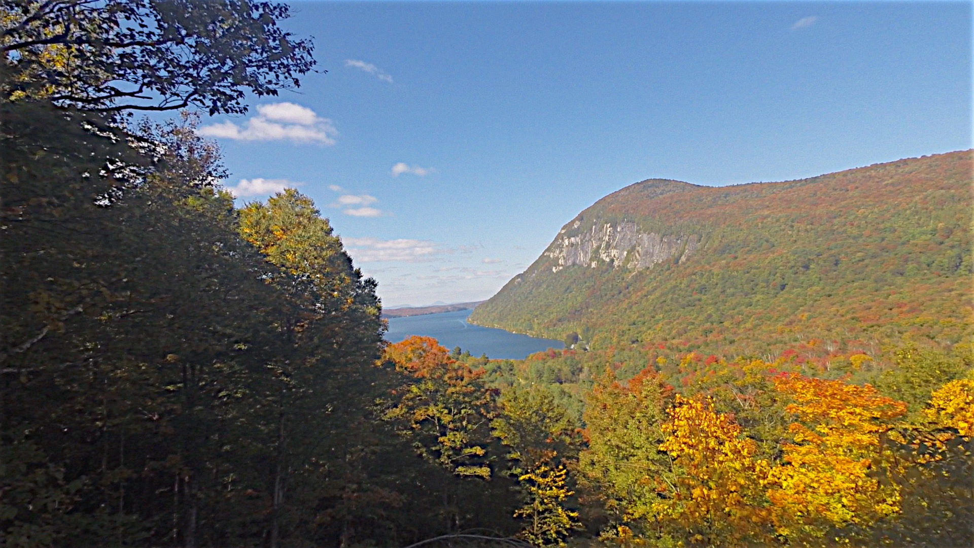 Stannard Mountain in the Fall, September 24th, and Lake Willoughby
