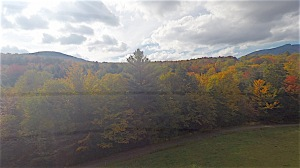 stowe bike path foliage color september 25th, 2014