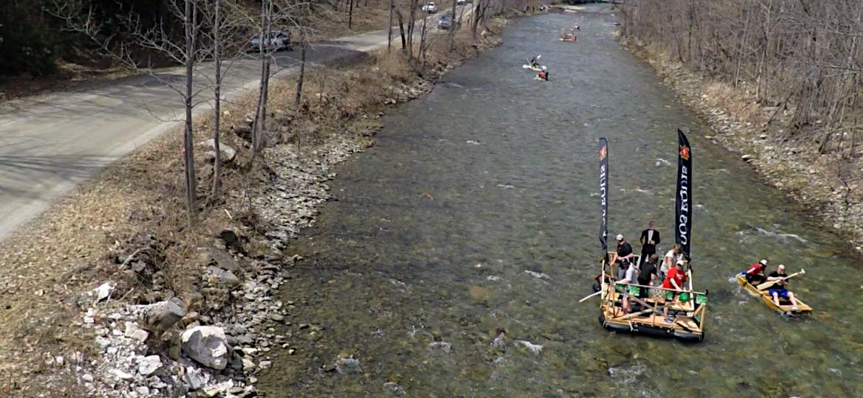 Bridgewater's Annual Homemade Raft Race 2015