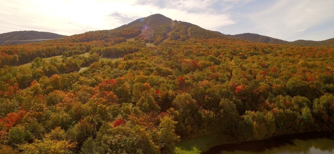 Jay Peak Foliage Color October 4th, 2015