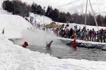 Bolton Valley closes out its 2017 ski season with Pond Skimming