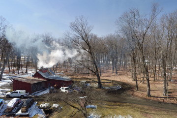 Maple Sugar House in Derby, VT