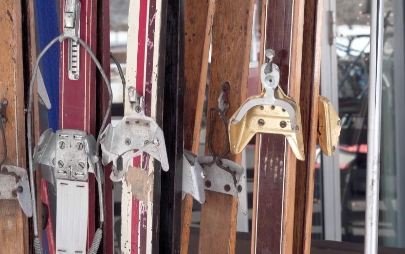Antique Nordic Ski Race